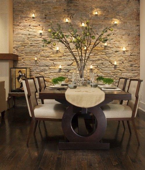 decoracion con piedras en interiores buscar con google