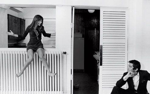 Jane Birkin and Serge Gainsburg
