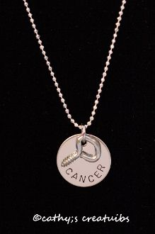 Visit Cathy's Creations-for every cancer necklace purchased-Kids Kicking Cancer will receive a portion of the proceeds.  Thank you for your support!: Purchase Kids Kicks, Necklaces Purchase Kids, Benefits Kids, Necklaces Purchased Kids, Purchased Kids Kicks