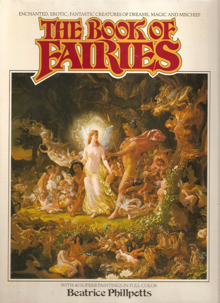 The Book of Fairies by Francopuces on Etsy