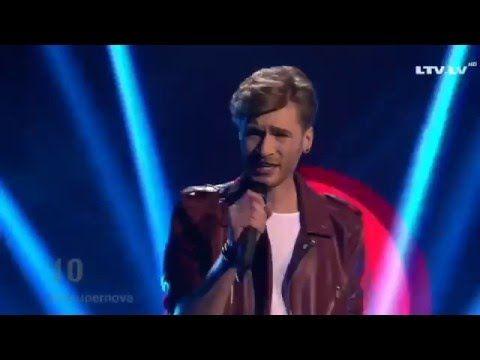 Justs - Heartbeat LIVE | Supernova | Eurovision 2016 Latvia