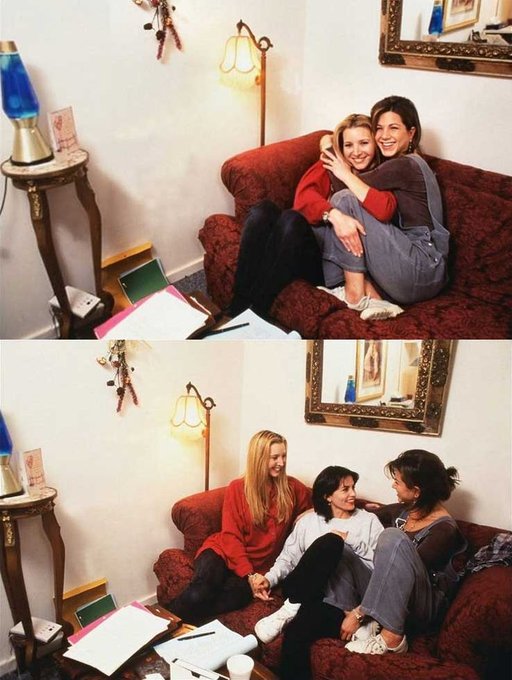 Lisa Kudrow, Jennifer Aniston and Courteney Cox | Rare, weird & awesome celebrity photos