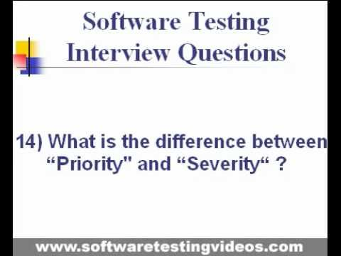 Software Testing Interview Questions Answers - YouTube