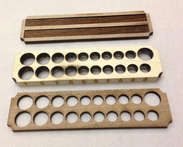 Wood And Magnet Socket Holder. Workshop OrganizationWorkshop StorageWorkshop  IdeasOrganization ...