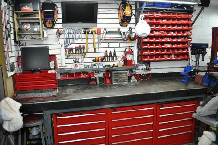 The Garage Journal Board View Single Post Building A Steel Workbench Shop Ideas