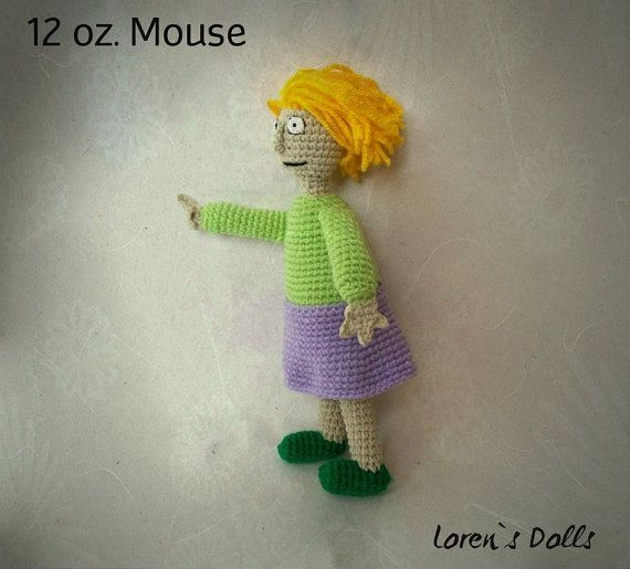 Annoying Lady from 12 oz. Mouse Crochet Toy by LorensDolls on Etsy  #12ozMouse