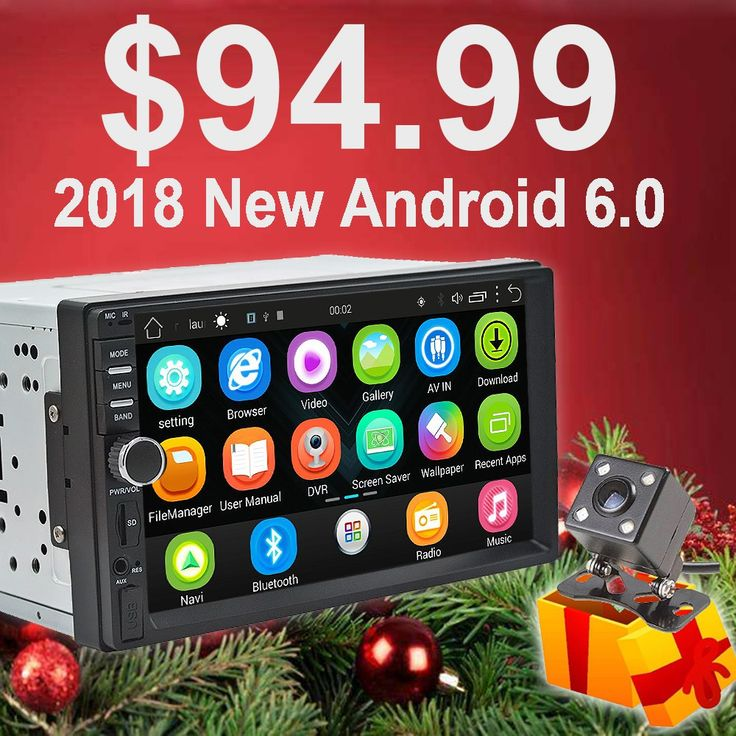 Promo offer US $96.35  Rhythm 2 din android 6.0 car radio auto bluetooth double din multimedia player universal GPS Navigation 1024*600 support dab    #Rhythm #android #radio #auto #bluetooth #double #multimedia #player #universal #Navigation #support  #Online