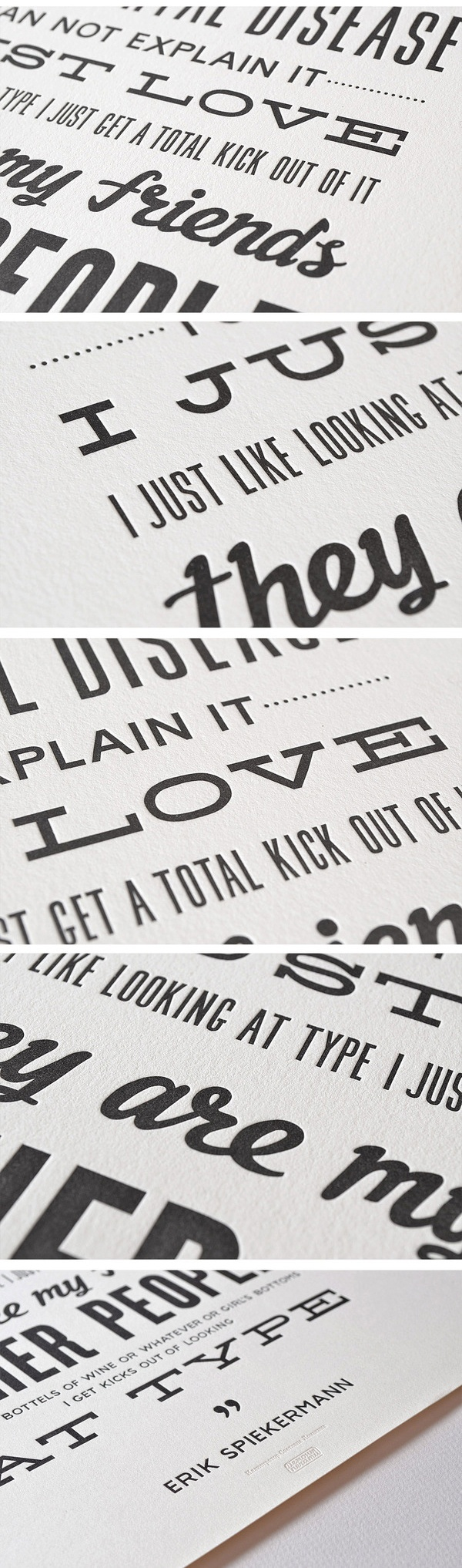 Best Design  Letterpress Images On   Graph Design