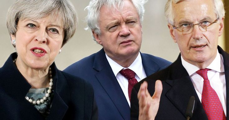 May IS a remainer and it looks like she'll get what she really wanted all along Michel Barnier and Guy Verhofstadt have come about as close as you can to trash talk in the realm of international diplomacy