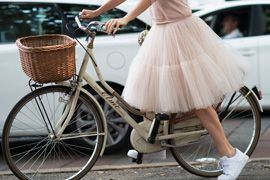 Style Cycle: Fashion's Finest Moments on Two Wheels