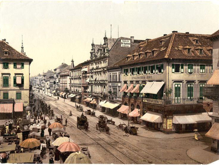 Lang her: Geschäfte in der Karlsruher Kaiserstraße