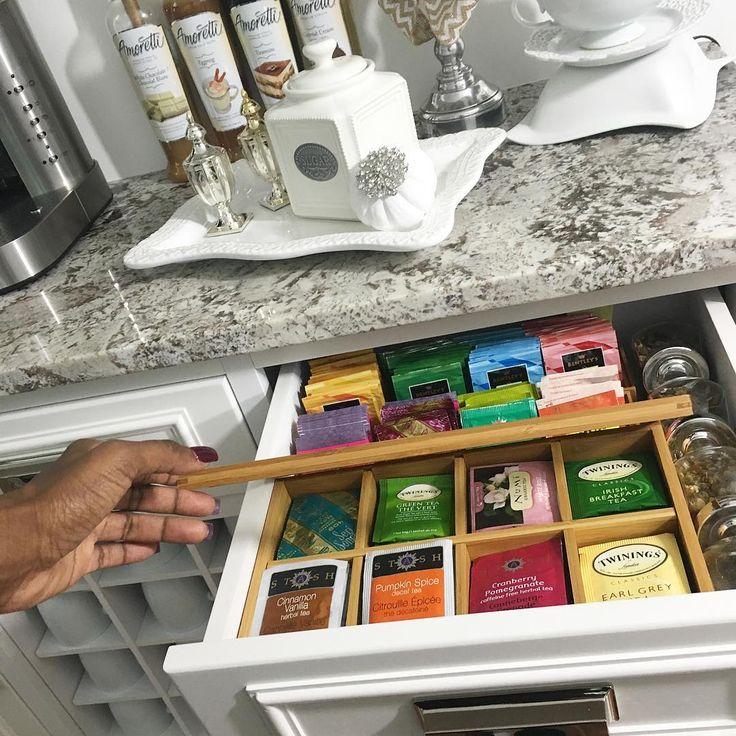 Kitchen Storage Ideas Youtube: Best 25+ Tea Organization Ideas On Pinterest