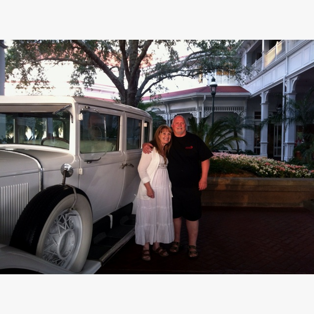 Cindy & Rick, Grand Floridian 2012
