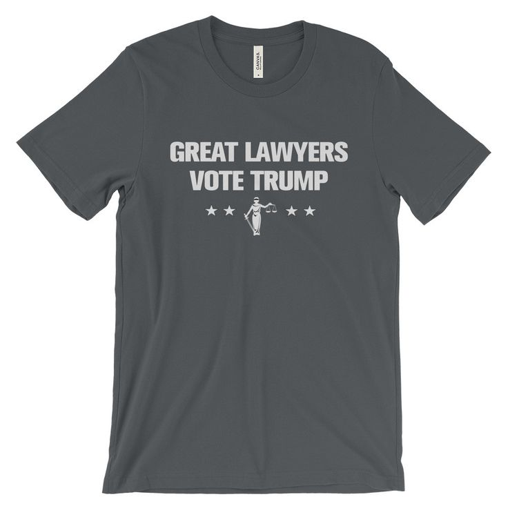 """Great Lawyers Vote Trump"" T-Shirt"