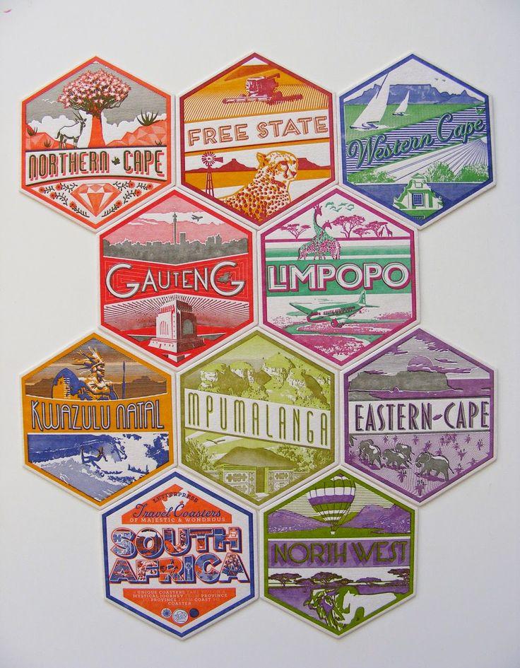 NEW STOCK! Just unpacked old school beer coasters by Essie Letterpress - 05 November 2014