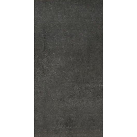 Carrelage mural smart artens en fa ence anthracite 25 x for Carrelage artens
