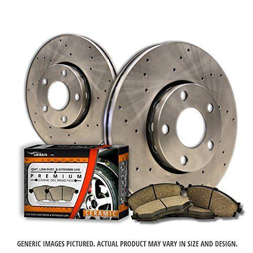 (Front Kit)2 Cross Drill Disc Brake Rotors + 4 Ceramic Pads(5lug)-Combo Brake Kit - https://www.caraccessoriesonlinemarket.com/front-kit2-cross-drill-disc-brake-rotors-4-ceramic-pads5lug-combo-brake-kit/  #Brake, #Ceramic, #Cross, #Disc, #Drill, #Front, #Kit2, #Pads5LugCombo, #Rotors #Brake-Systems, #Performance-Parts-Accessories