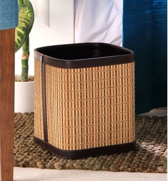 Gone are the days when dustbins used to be dirty. Treat garbage in a stylish way by these handcrafted and decorous trashbins - available in many colors, patterns and sizes so as to suit your interior design.  Price - ₹1099 onwards  #kraftsmen #trashbin #dustbin #stylish #interior #handmade #housekeeping #premiumproducts #classic #interiordesign #shopnow