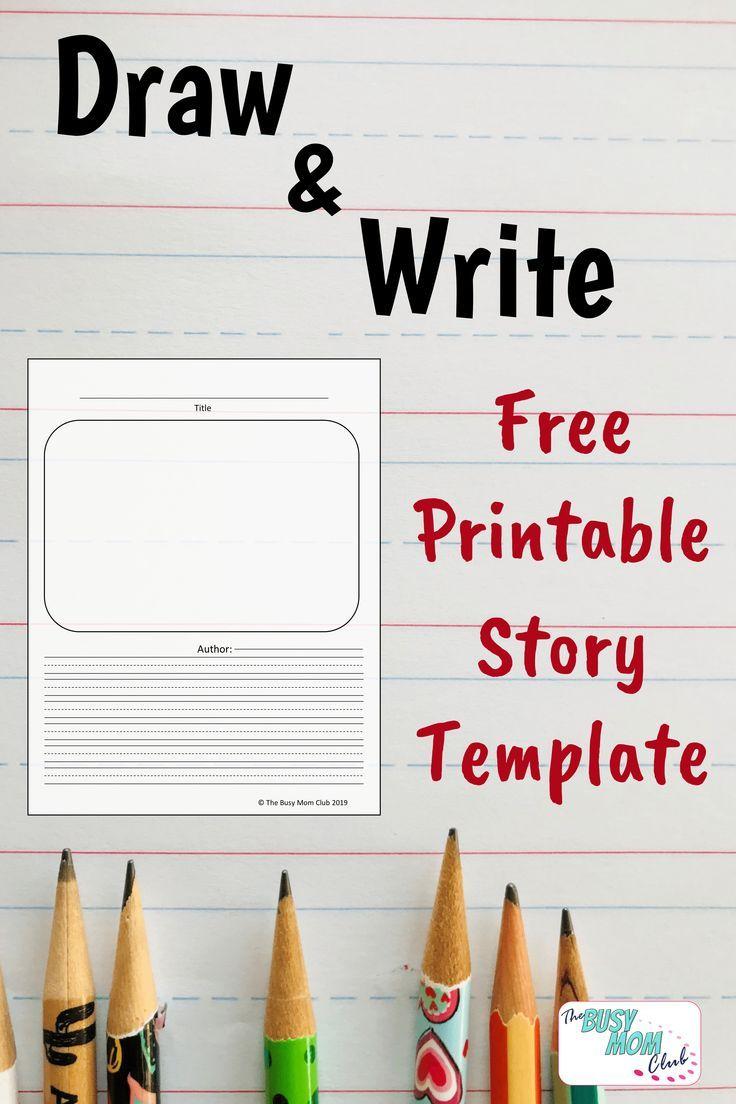 Free Printable Draw Write Story Template Writing Printables Elementary Writing Kids Writing Read write draw printables
