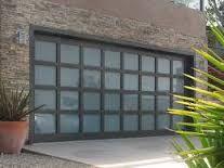 Image result for all glass garage doors