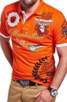 MT Styles Poloshirt MANHATTAN T-Shirt MP-306