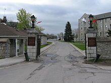 Gates, Royal Military College of Canada, Kingston, Ontario, Canada