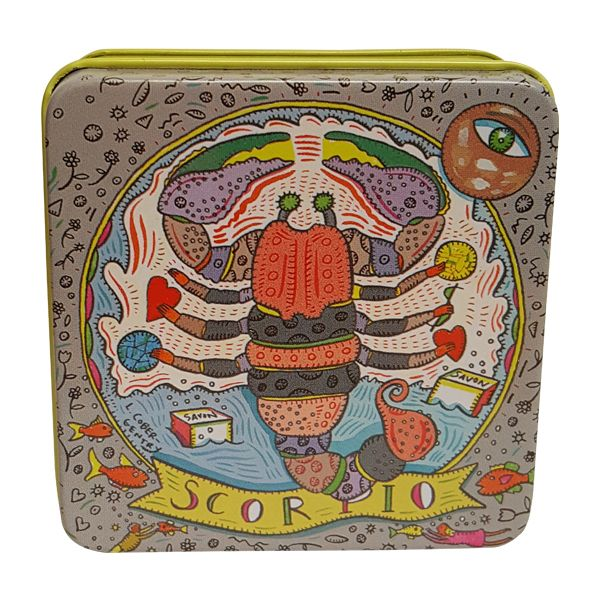 Buy Pre de Provence Zodiac Soap in Tin 3.5oz - Scorpio at affordable rate. Choose from our wide range of Soaps from ASecretAdmirer.com