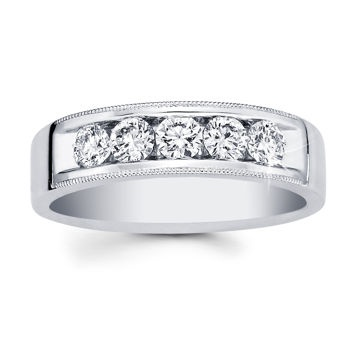 Costco: Menu0027s Diamond Ring (0.95ctw) 14kt White Gold