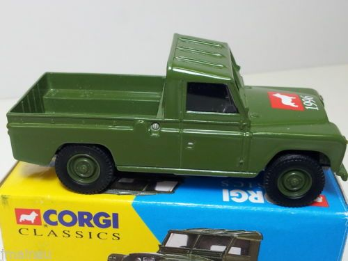 CORGI TOYS COLLECTORS CLUB LAND ROVER, VERY LOW NUMBER