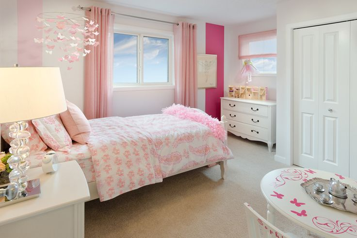 Pretty in Pink Excel Homes  Ambleside show home  Hillcrest  Airdrie   Excel  Homes   Great Kid s Rooms   Pinterest   Pink  Bedrooms and Home. Pretty in Pink Excel Homes  Ambleside show home  Hillcrest
