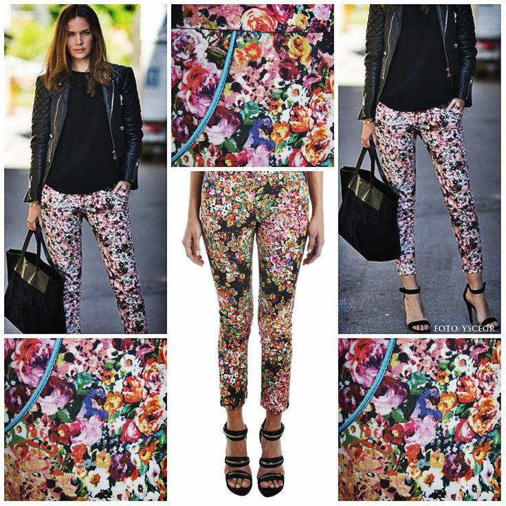 Pantalones estampados en >> www.tiendafucsia.co