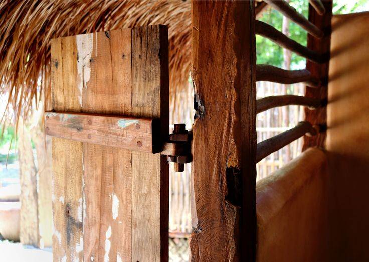 Re-purposed old boat wood for this saloon style door; hand made on the island by a local artisan carpenter Pak Agus. #bale #bathroom #giliasahanecolodge #lombok #interior #repurposed #boat #recycle #giliasahan #travel #outdoorliving #wood #lodgelife #driftwood #interiorstyling #islandaddict #architecture #ecofriendly #ecoconscious #ecoliving #simplyadventure #lifeofadventure #letsgosomewhere #wonderful_places #letsgoeverywhere #travelmore #passionpassport #travelawesome #doyoutravel…