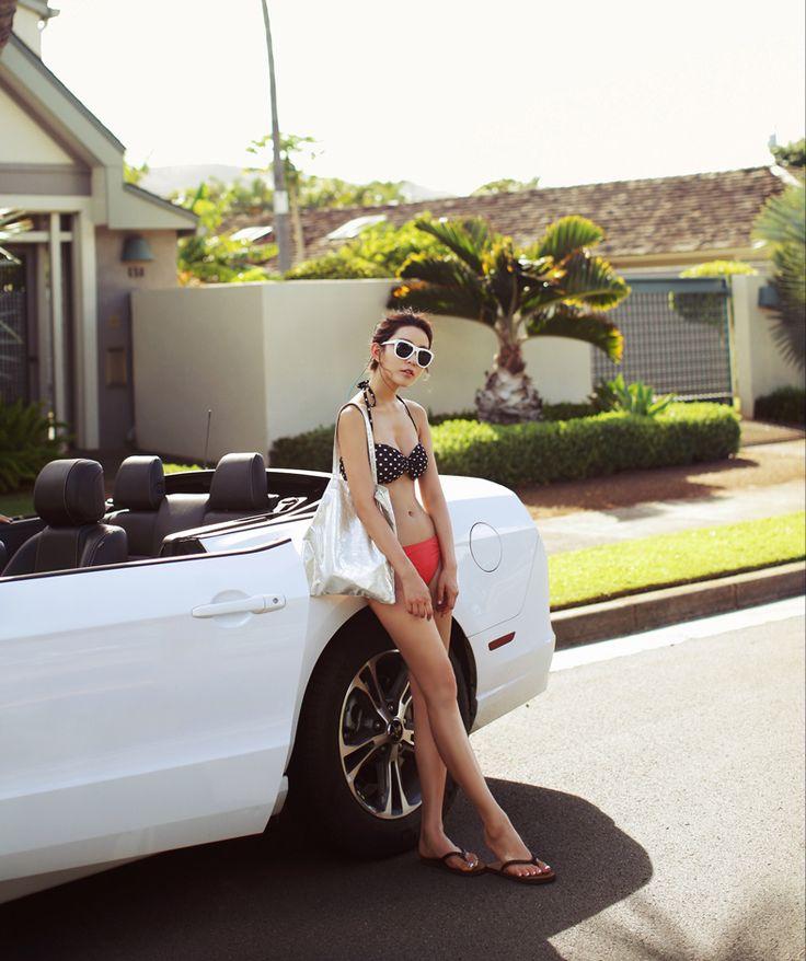 #다홍 #dahong #summer #bikini bra #beachwear #여름 # 비키니 탑 #비치웨어 #바캉스 #vacance #2014 신상 #2014 new