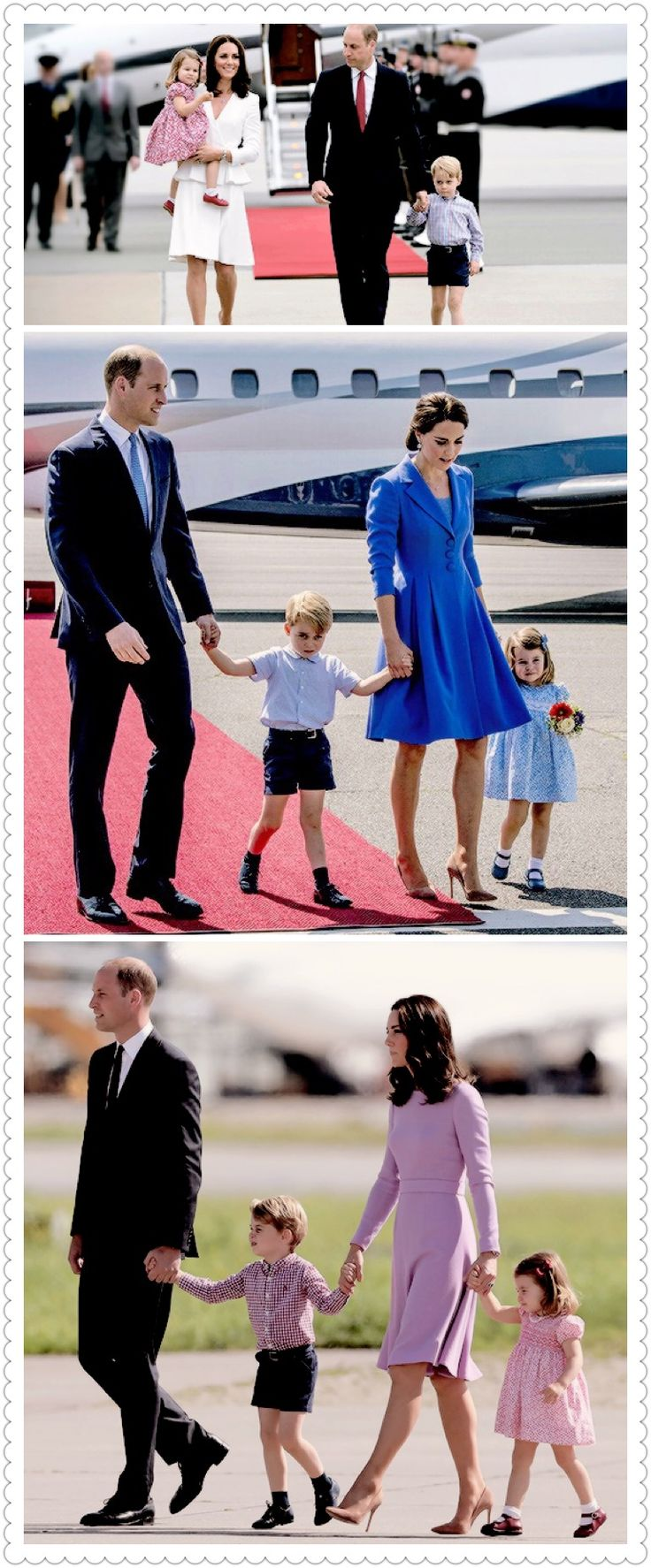 The Cambridge's Royal tour of Poland and Germany