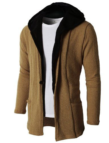 H2H Mens Hoodie Cardigan Sweater With Two Tone Color Hoodie BEIGE US M/Asia L (KMOCAL074) H2H http://www.amazon.com/dp/B00IFZV23G/ref=cm_sw_r_pi_dp_.IpCub0GBHSYM