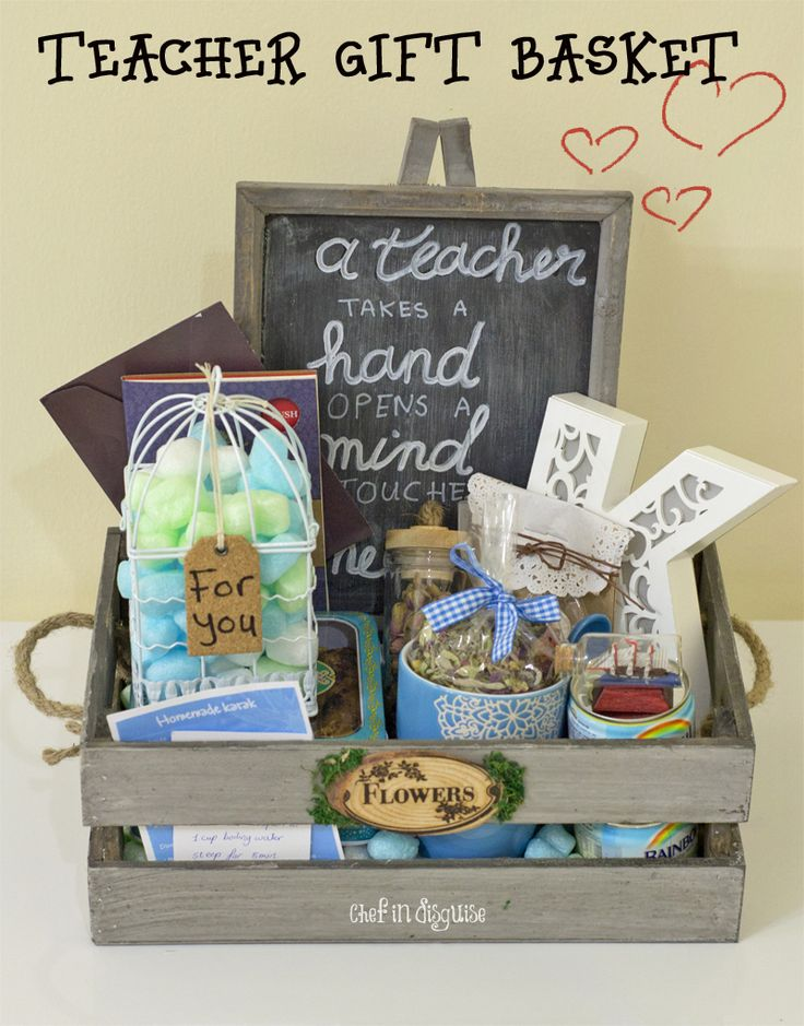 DIY birthday gift basket with great tips on how to make your own