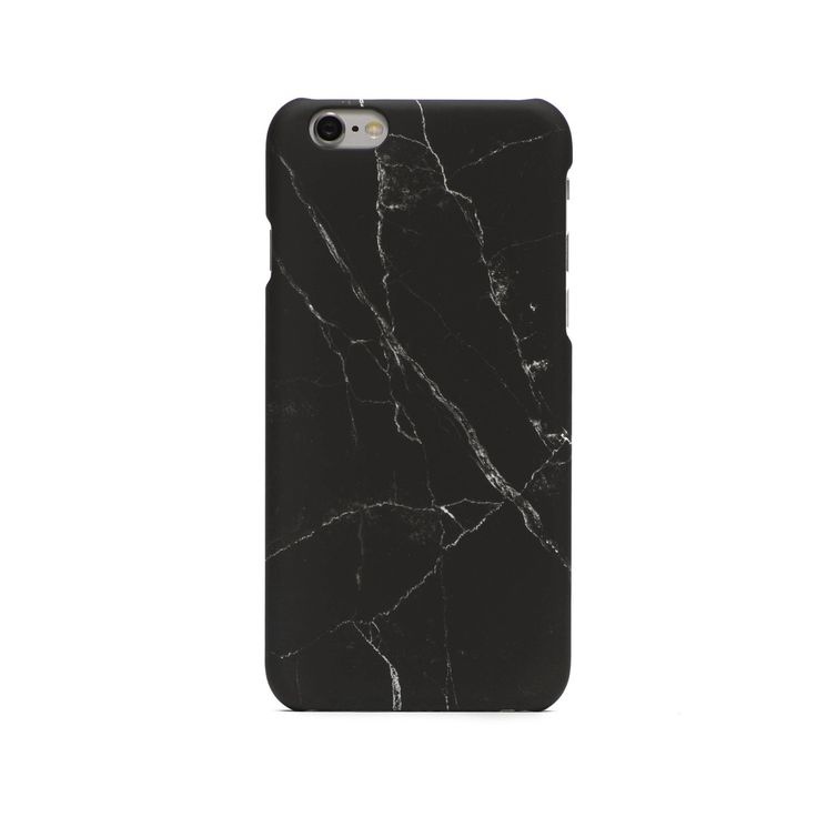 Marble iPhone Case - Black by UNIQFIND | #iphonecase
