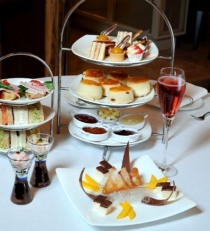 Queen's Diamond Jubilee Afternoon Tea - Andaz London - 2 for 1 Offer - £45