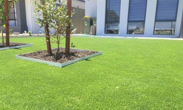 residential synthetic lawn perth
