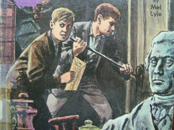 Vintage Power Boys Adventure - The Mystery of the Vanishing Lady - Youth Series Reading Book with Illustrations