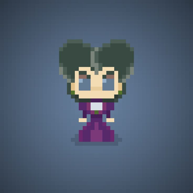 Famous Characters in Pixel Art Lady Tremaine from Cinderella #ladytremaine #wickedstepmother #antagonist #matrigna #stepmother #disneyprincess #principessa #principesse #disney #waltdisney #broom #pixelart #pixel #16bit #theoluk