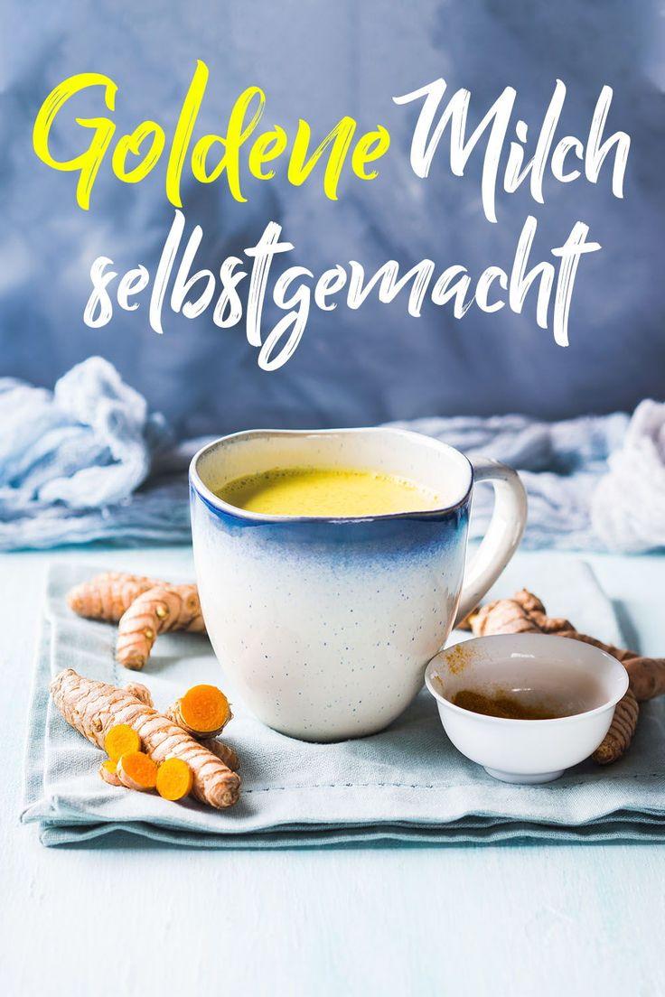 Goldene Milch – perfekt nach einem stressigen Tag