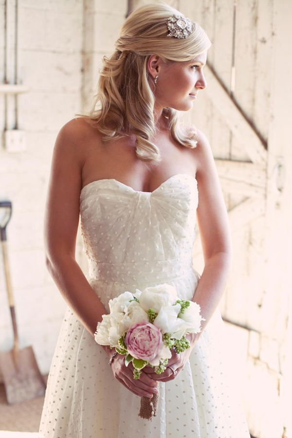 17 best images about plumeti para novias on pinterest for Dotted swiss wedding dress
