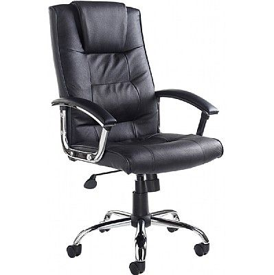 Somerset Executive High Back Leather Chair
