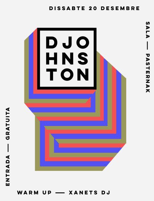 marindsgn:DJhonston poster by Quim Marinwww.quimmarin.com
