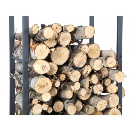 """""""Jesion"""" Frame for wood - Firewood rack made of metal profiles. It can be easily disassembled."""