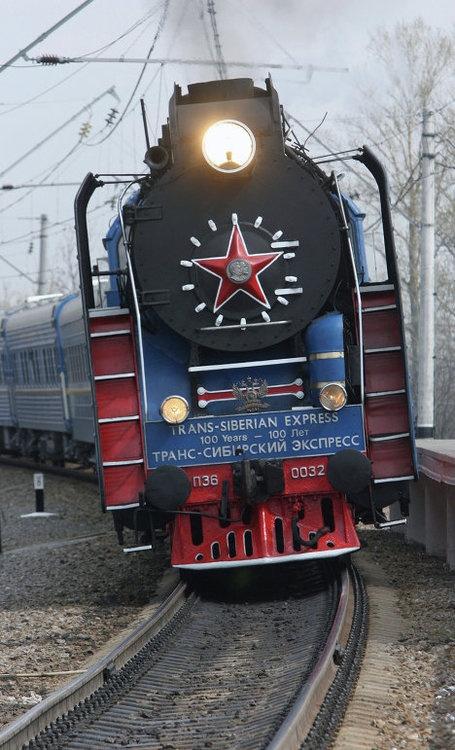 Trans-Siberian Express - Book your Train Adventure here: http://www.VodkaTrain.eu #train #traintravel #travel #vodkatrain #soviet #locomotive #reisen #transsib #transsiberian #railway