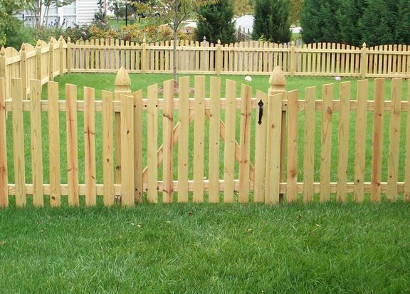 Best short fence ideas on pinterest front yard