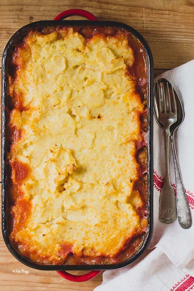 A legfenségesebb pásztor pite - Sheperd's pie - (vegán)
