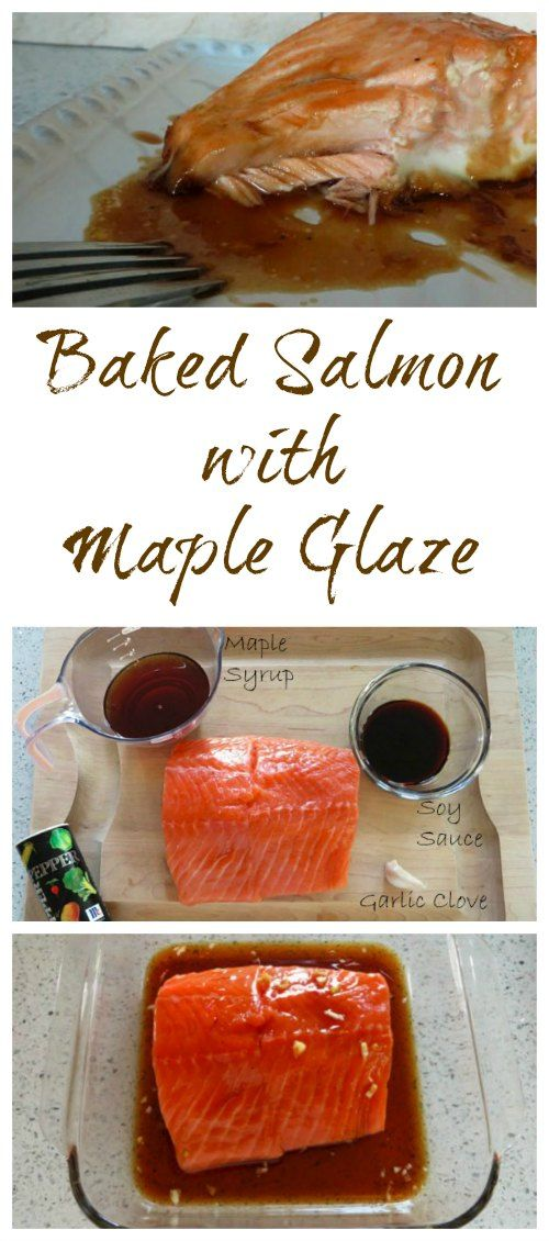 Baked Salmon with Maple Glaze Recipe from Having Fun Saving.    This Baked Salmon recipe is outstanding with the simple, yet delectable Maple Glaze.